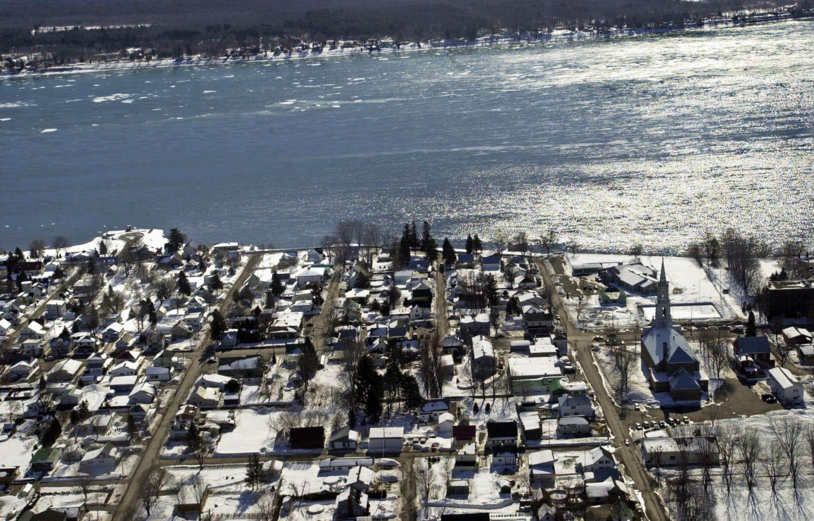 Le pipeline de TransCanada doit traverser de nombreuses rivières majeures du sud du Québec, mais aussi le fleuve Saint-Laurent.