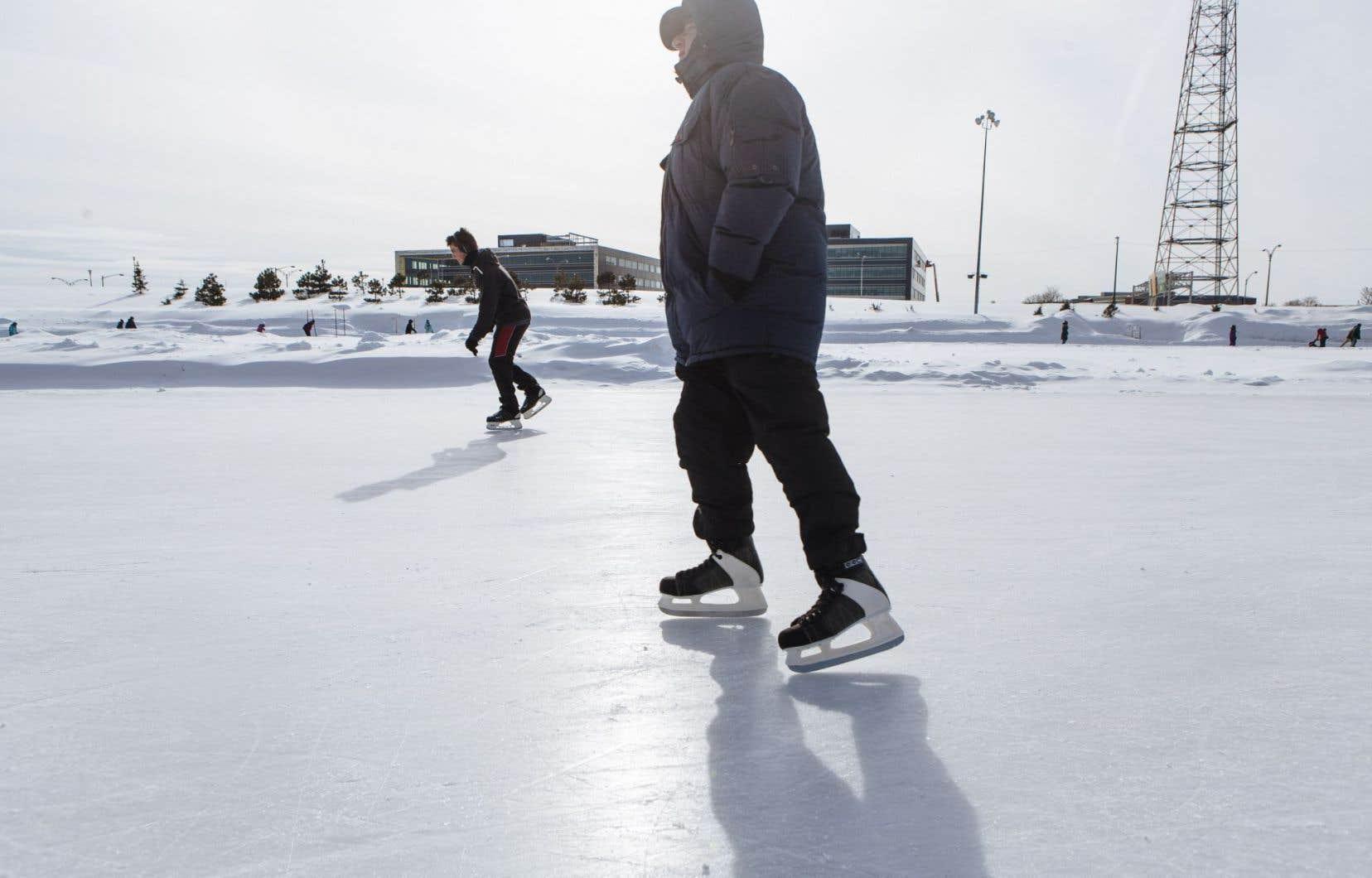 Sera-t-il possible de combattre la sédentarité hivernale grâce à une voie de patinage qui traverserait la ville?