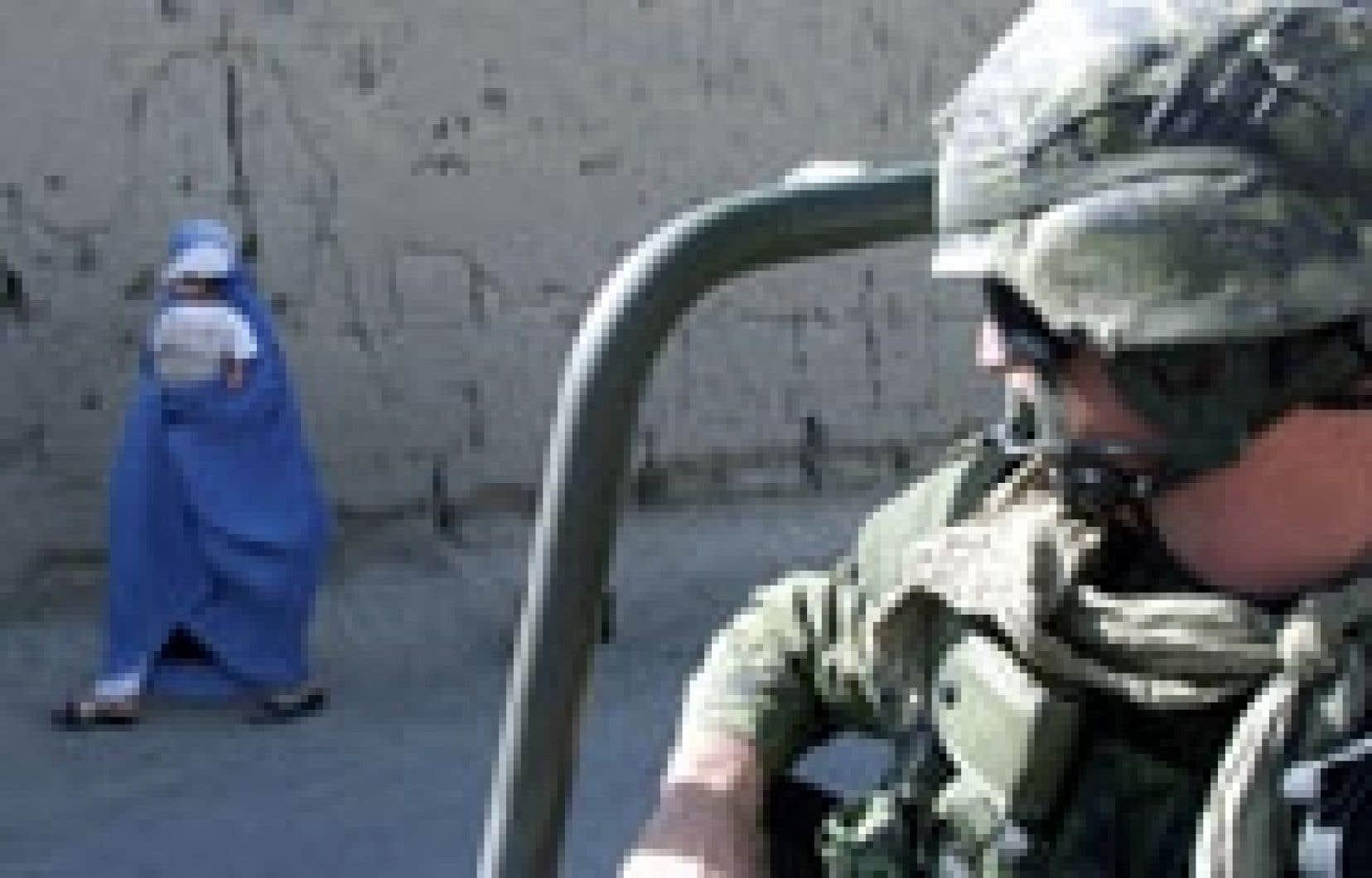 Au cours  de leur mission de six mois en Afghanistan, les militaires canadiens du Royal 22e Régiment auront effectué plus de 3800 patrouilles