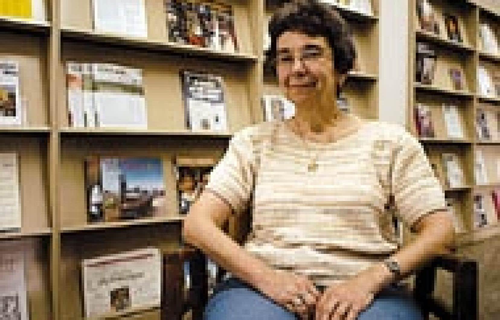 Diane Boudreault, l'une des fondatrices du Regroupement pour la responsabilité sociale des entreprises, qui réunit vingt-deux congrégations religieuses.