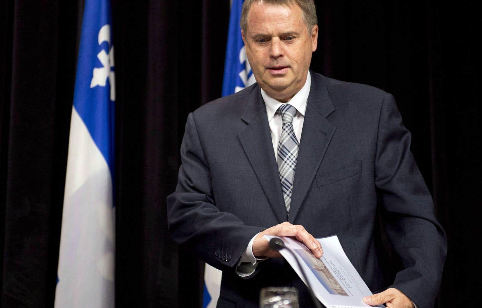 Michel Samson n'a pas «cerné de tendance générale» expliquant les 40démissions d'employés recensées en 2013-2014.
