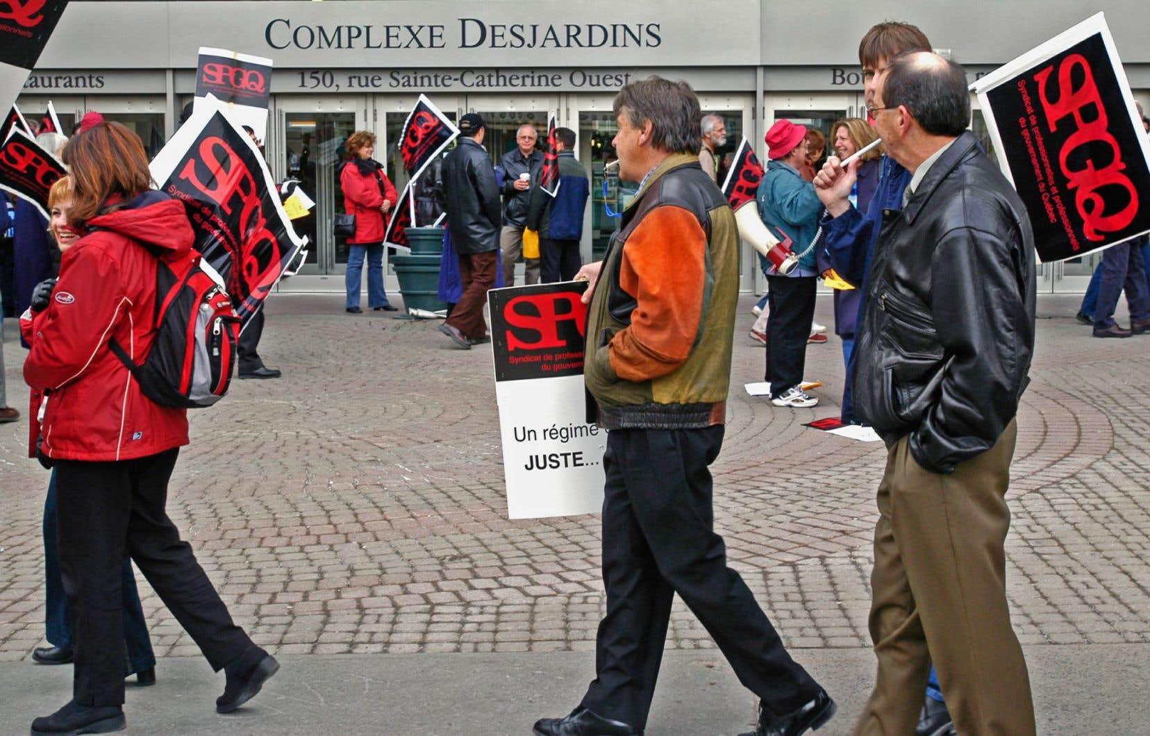 Depuis l'automne dernier, les 25 500 membres du Syndicat des professionnels du gouvernement du Québecrencontrent de multiples obstacles dans la formation continue.