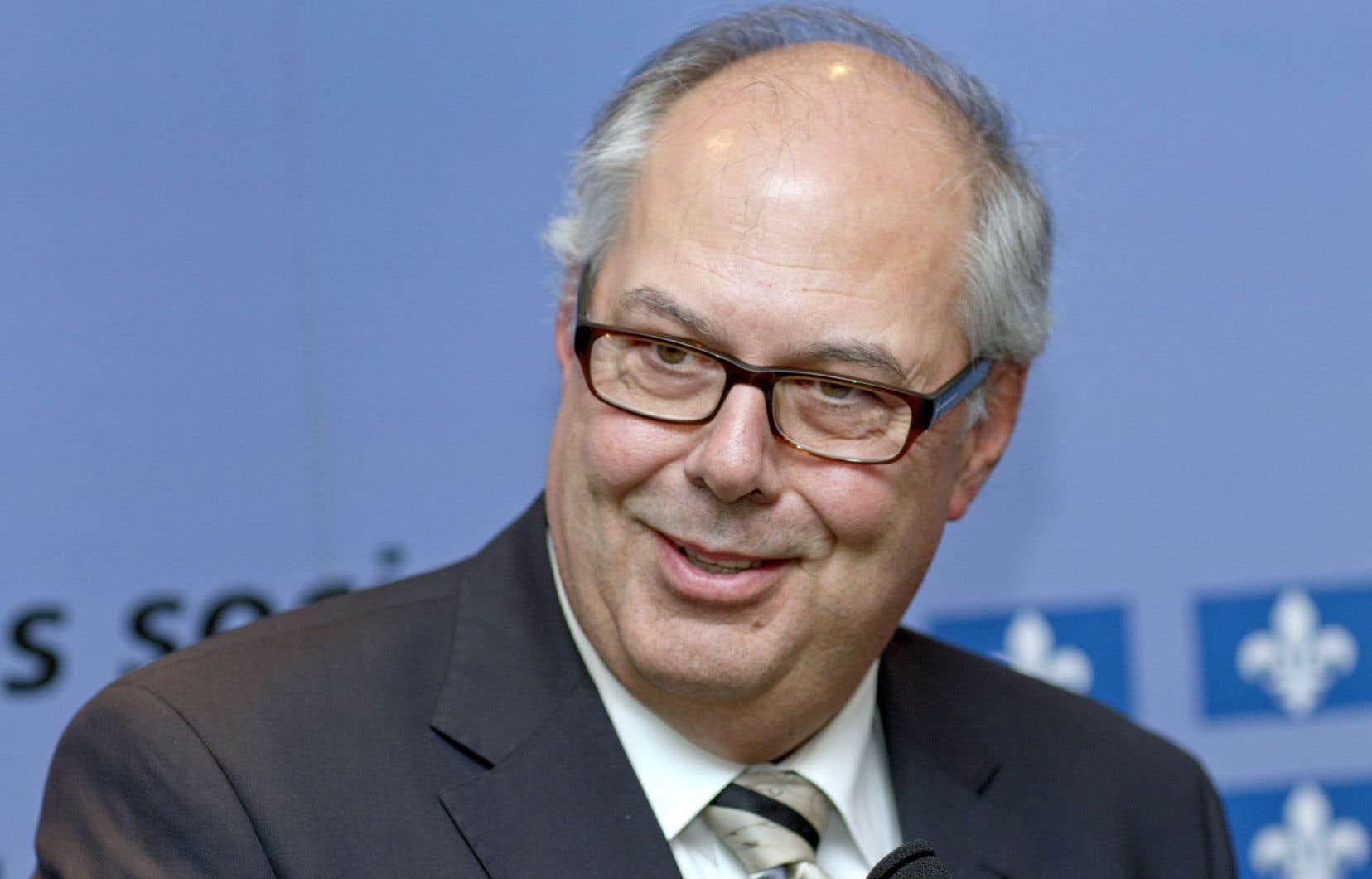 Le président de la Fédération des médecins omnipraticiens du Québec, Dr Louis Godin