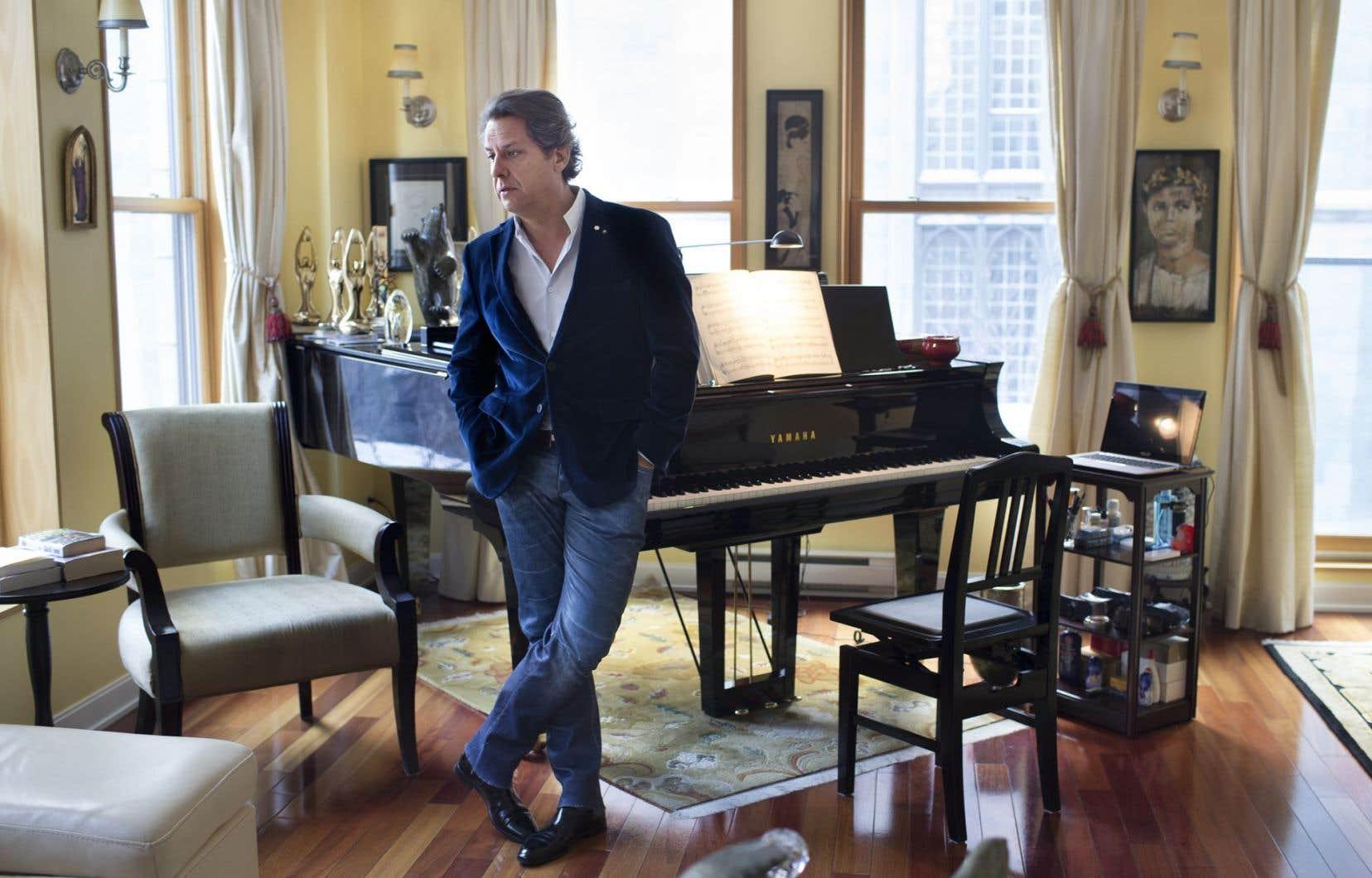Le pianiste montréalais Alain Lefèvre s'établiera en Grèce comme « un essai, un moment de réflexion » pour composer davantage.
