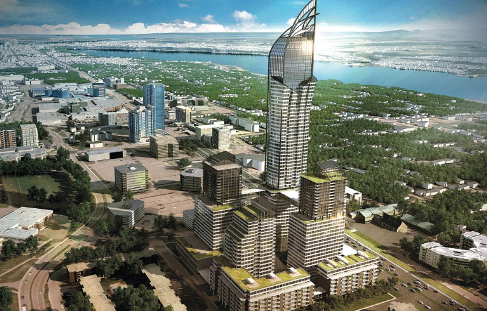 Ce type de tour appartient à une période de croissance économique et démographique extrêmement rapide des métropoles qui est révolue au Québec.