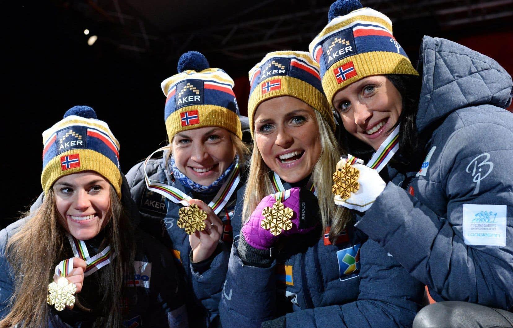 L'équipe norvégienne