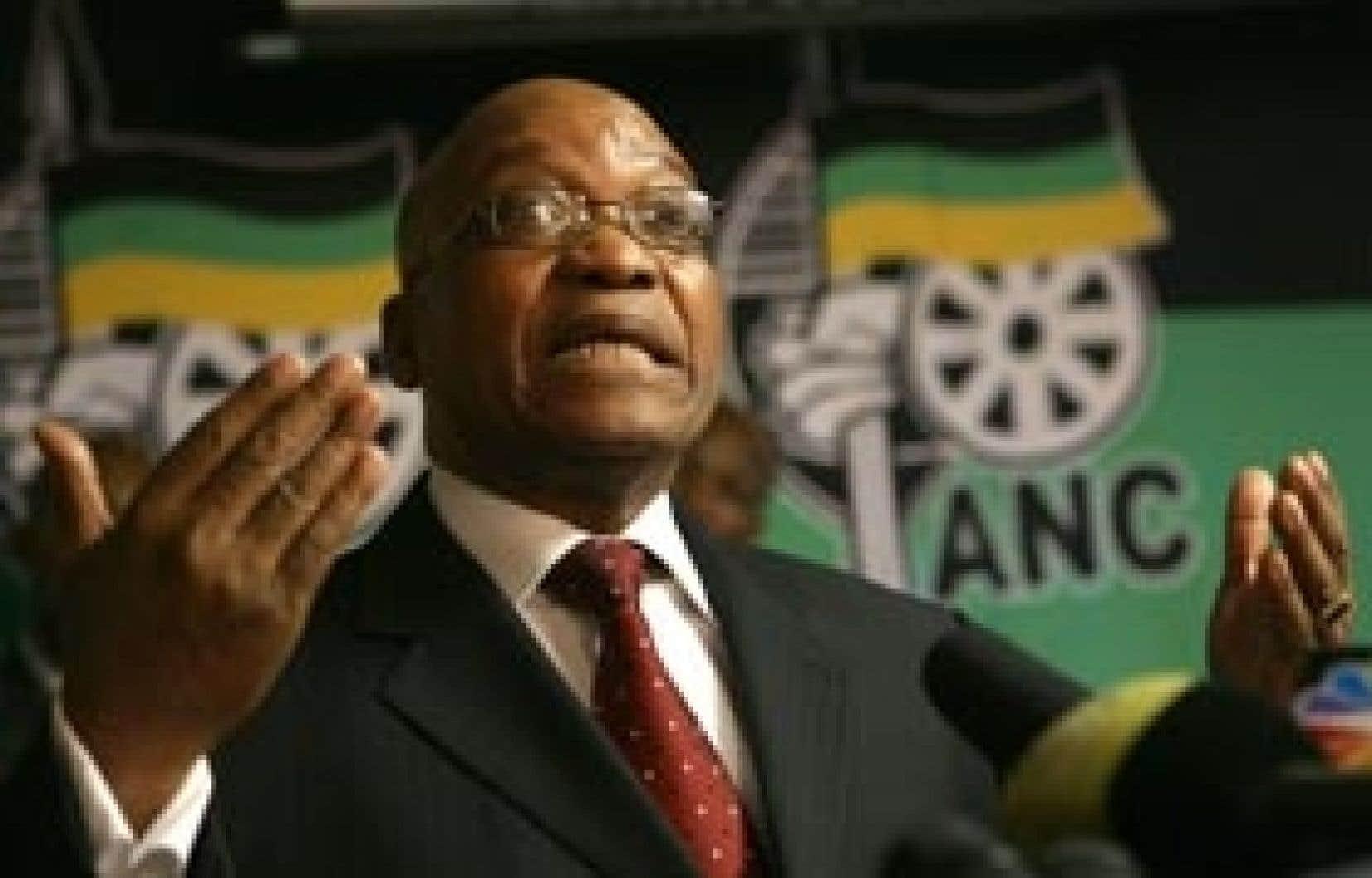 Le chef de l'ANC, Jacob Zuma, sera selon toute vraisemblance élu cette semaine président de l'Afrique du Sud.