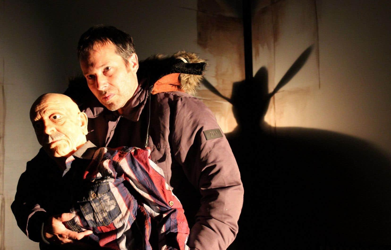 Une scène de «La morsure de l'ange», qui sera présenté pendant le Festival des Casteliers.