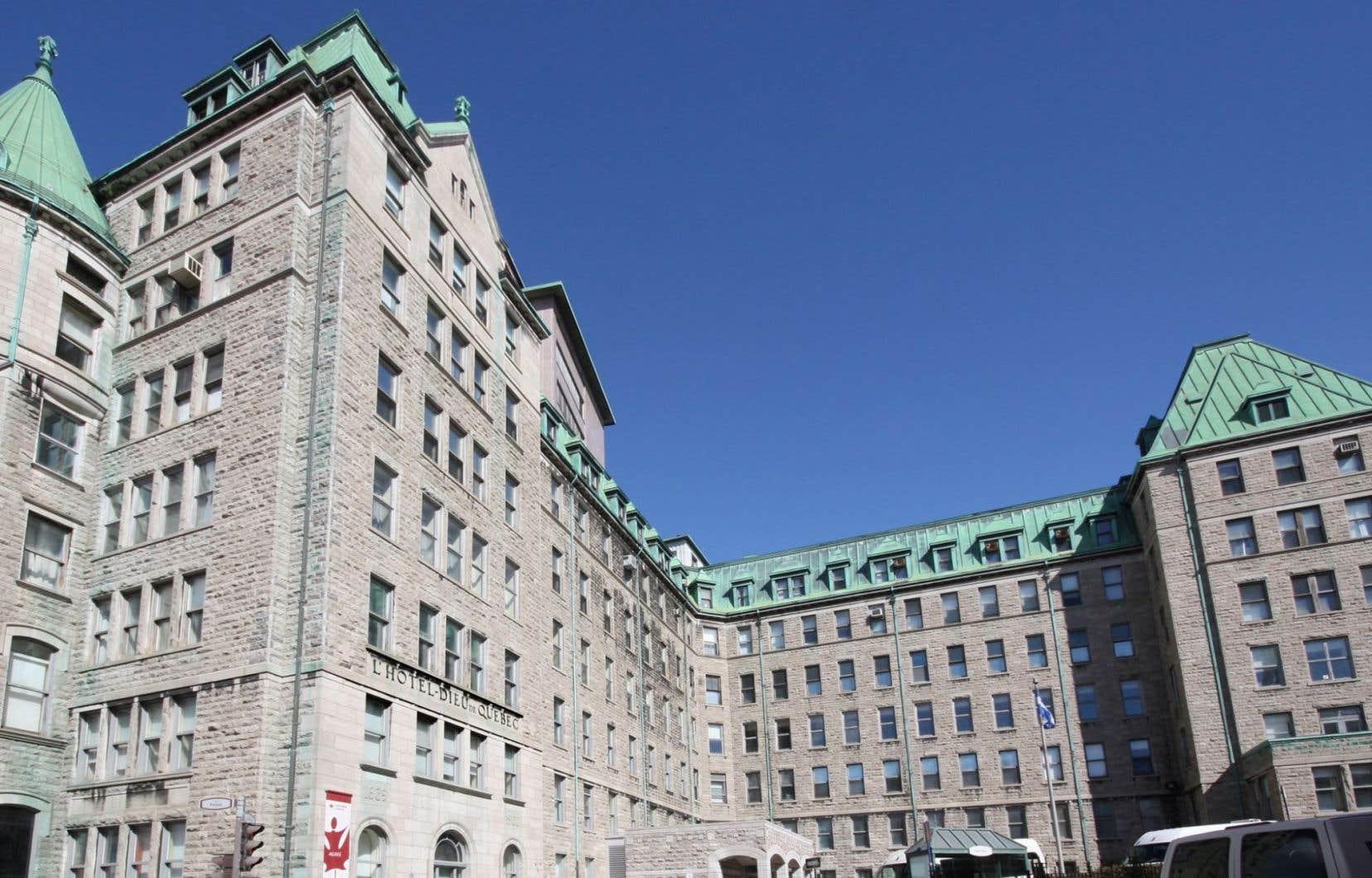 L'Hôtel-Dieu de Québec