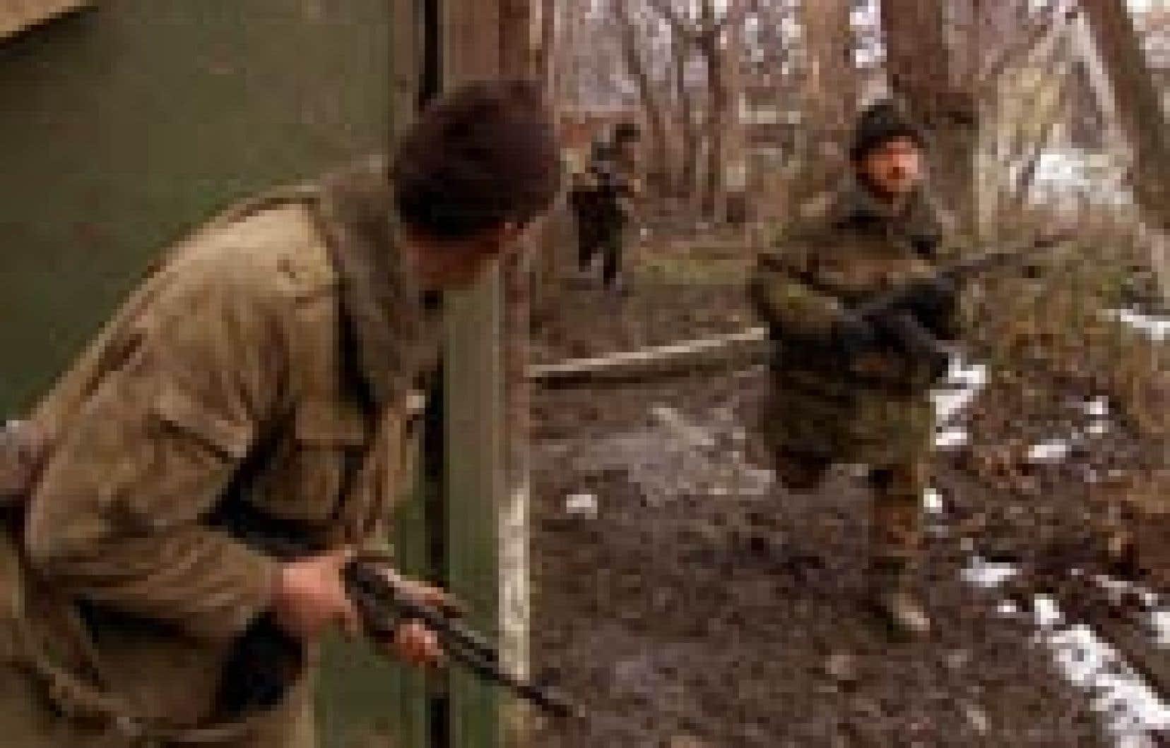 Le niveau de violence contre les civils s'est encore aggravé depuis la fin du «processus électoral» organisé en 2003 par le Kremlin.