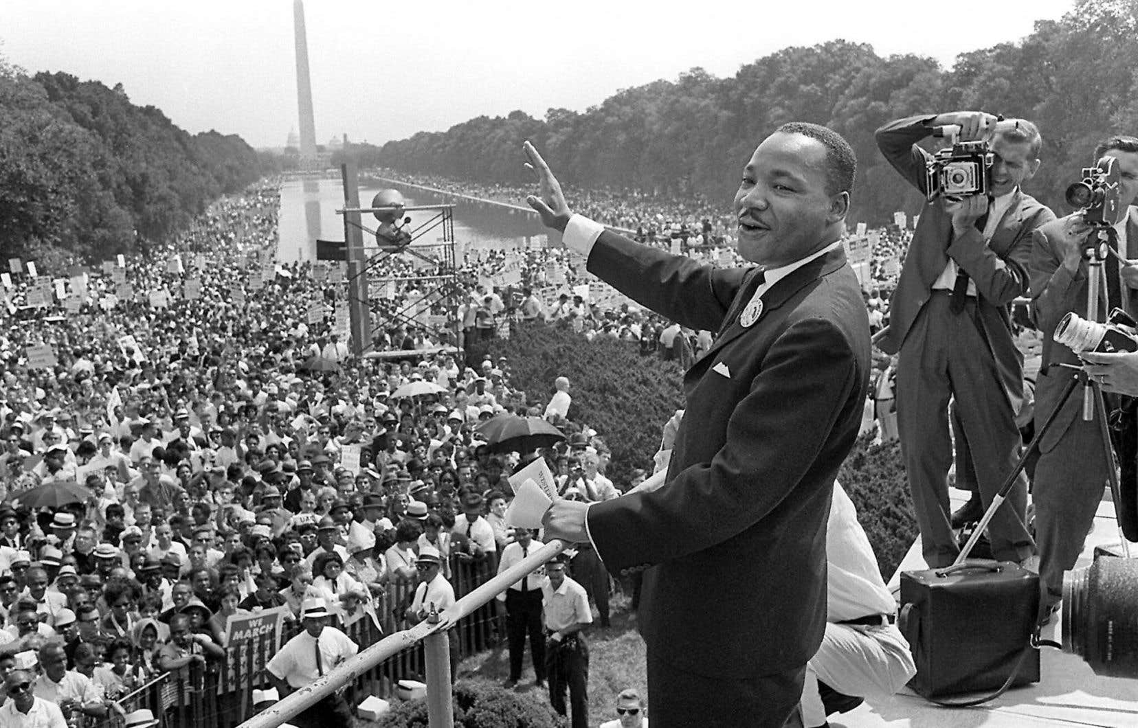 Martin Luther King à Washington en 1963