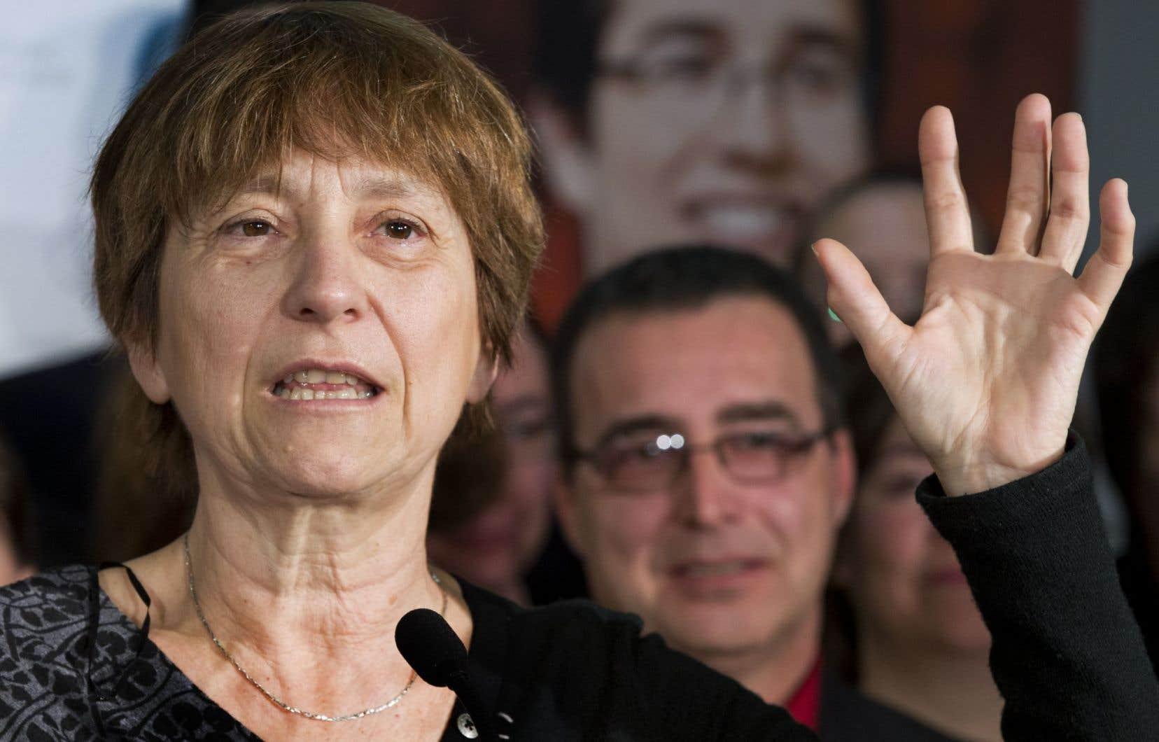 Avant le scrutin de lundi dans Richelieu, Françoise David disait qu'elle n'avait que des espoirs limités dans la circonscription.