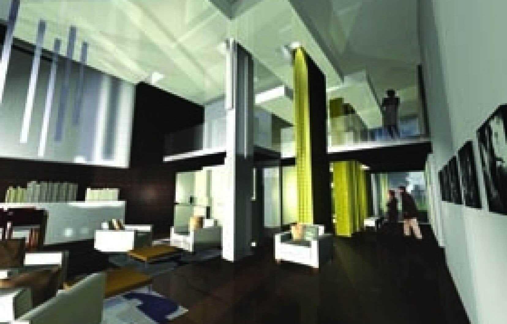 En 2005, le groupe Kevlar signait un premier Sax. Le projet qu'il propose pour Mont-Royal est de même nature.