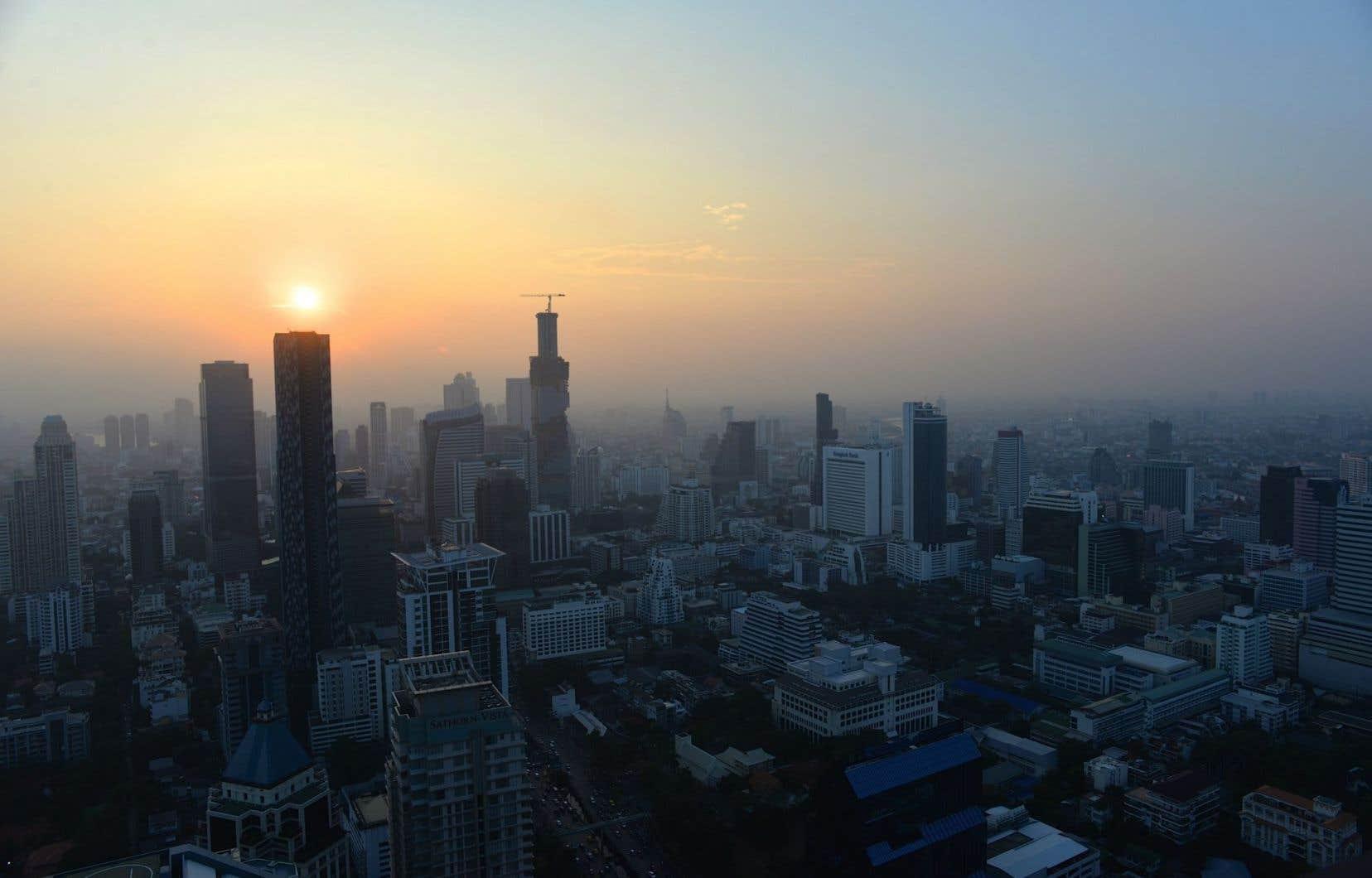 Bangkok au couchant