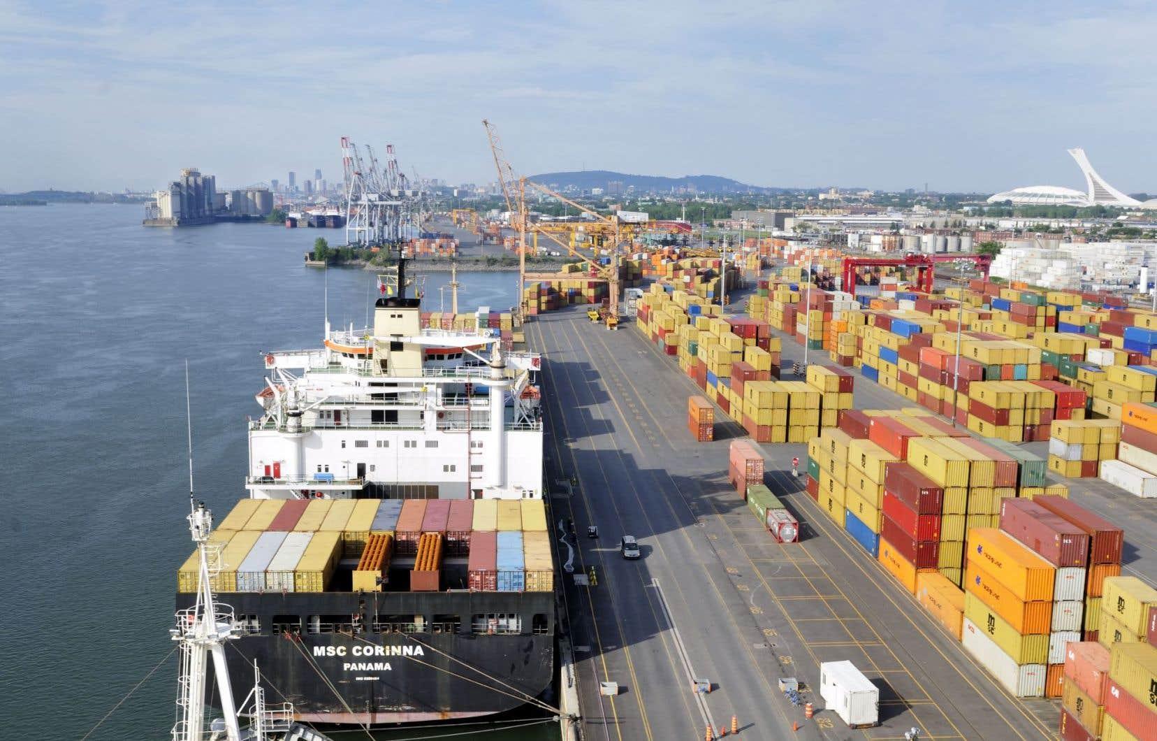 Le groupe chargé d'exploiter le futur terminal Viau, Termont Montréal, promet d'investir 42 millions au cours des deux prochaines années afin d'accroître la capacité de manutention.