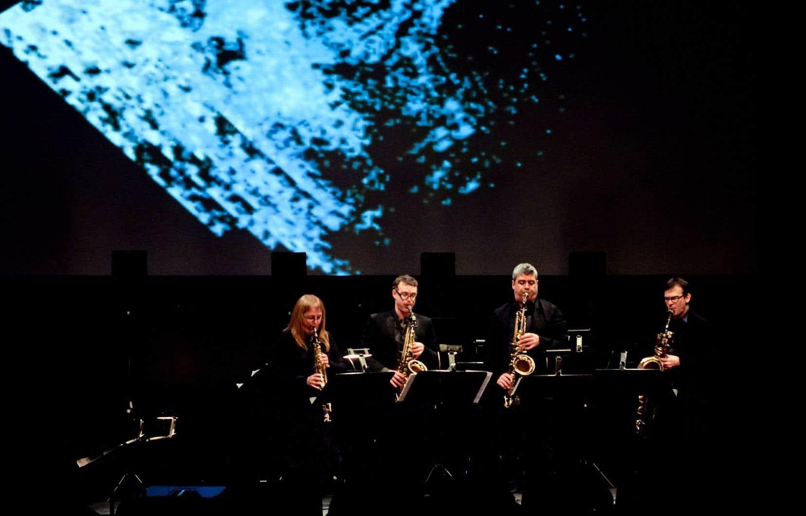 Le quatuor Quasar