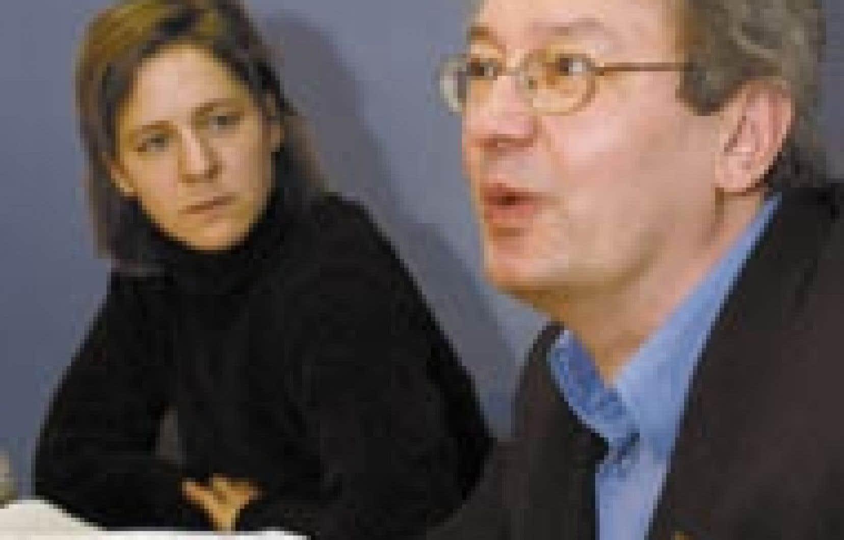François Saillant, du FRAPRU, a été agréablement surpris de sa rencontre avec les ministres Yves Séguin et Jean-Marc Fournier.