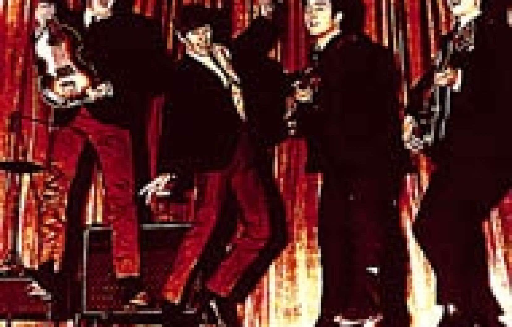 Paul, Ringo, John et George.