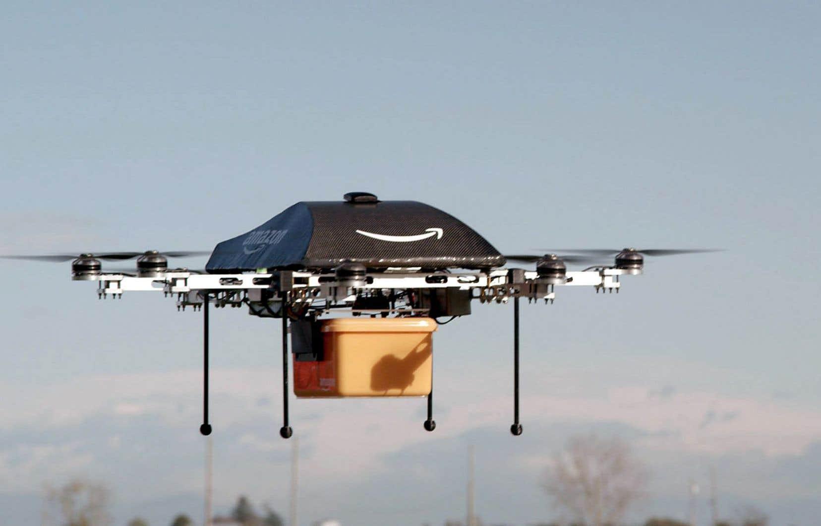 Un drone d'Amazon
