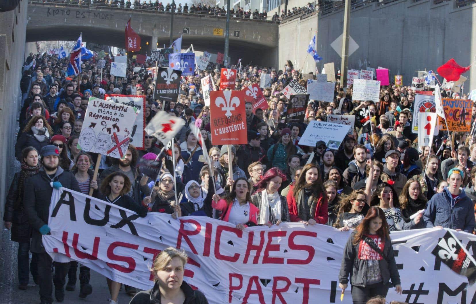 Le Syndicat des professeurs de l'UQAM a voté pour un mandat de deux journées de grève à être déclenchées au moment opportun.