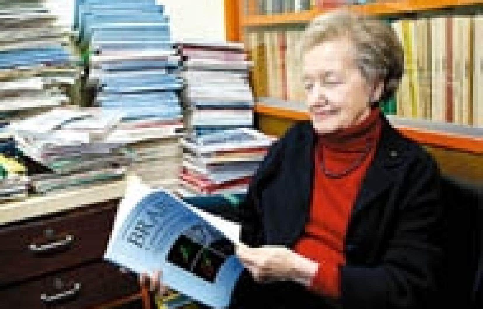 Brenda Milner poursuit toujours ses recherches sur la mémoire à l'Institut neurologique de Montréal.