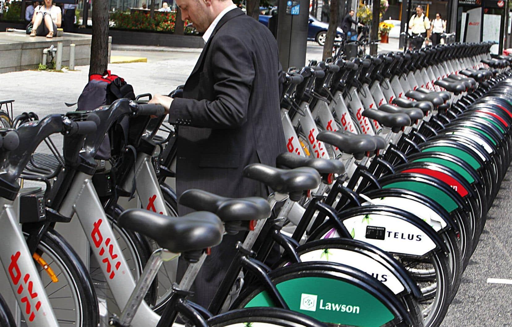 Alors qu'à l'origine, Bixi devait permettre une plus grande accessibilité au vélo, son usager moyen a aujourd'hui un salaire de 50 000$ par an.