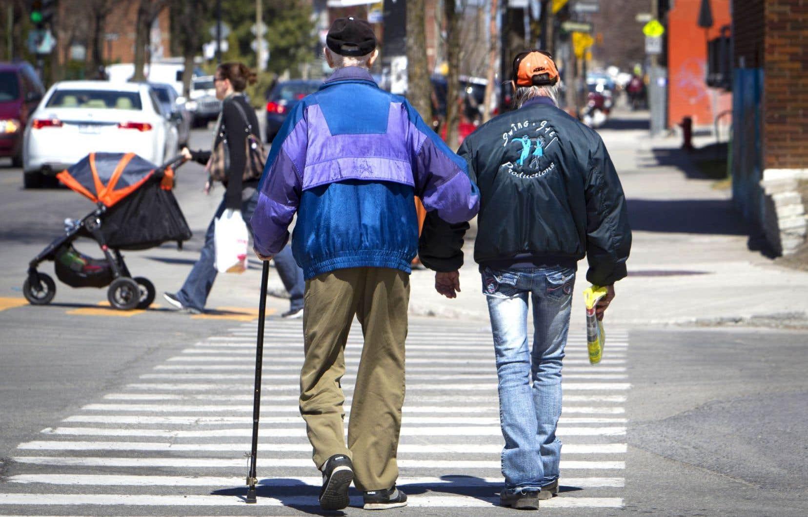 Plutôt que le choc démographique annoncé, le vieillissement de la population serait un «phénomène graduel» qui nécessite différentes adaptations, selon une étude de l'Institut de recherche et d'informations socio-économiques.