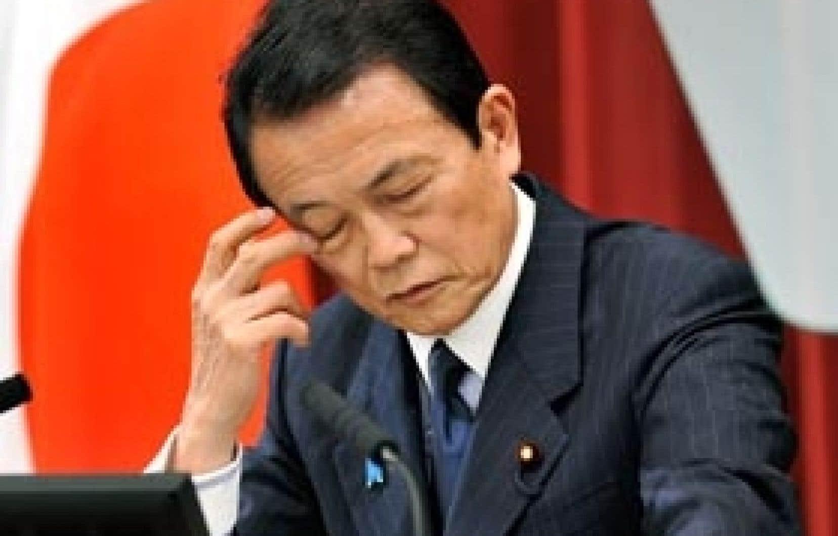 Avec son plus récent plan, le premier ministre japonais Taro Aso espère calmer l'anxiété qui grippe un peu plus la machine économique, enrayée depuis mi-2008 par les répercussions de la crise planétaire.