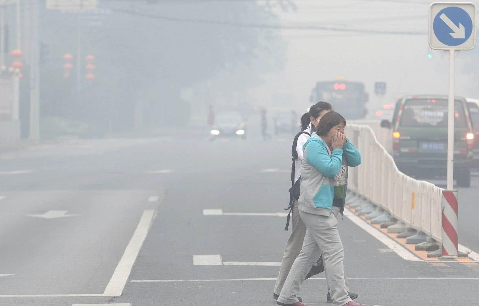 La Chine devra s'impliquer dans la lutte contre les changements climatiques. Pékin est un exemple frappant de la situation de l'environnement.