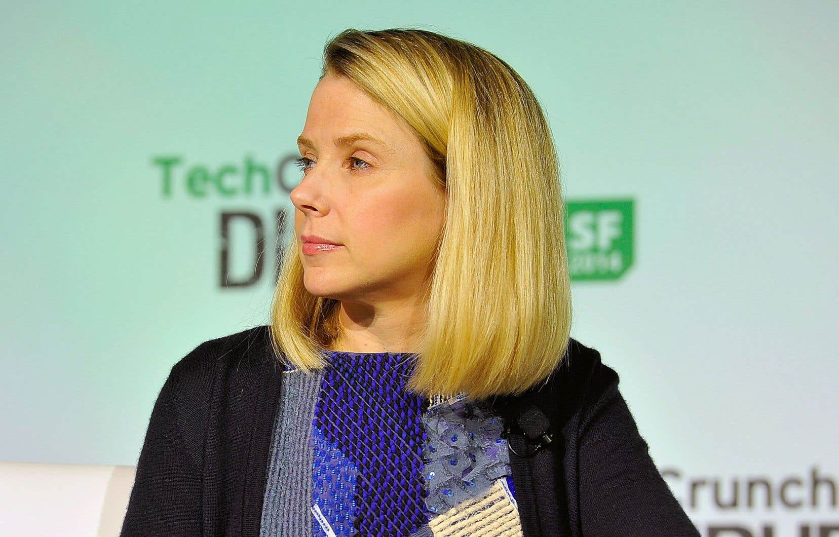 Marissa Mayer, directrice générale de Yahoo!