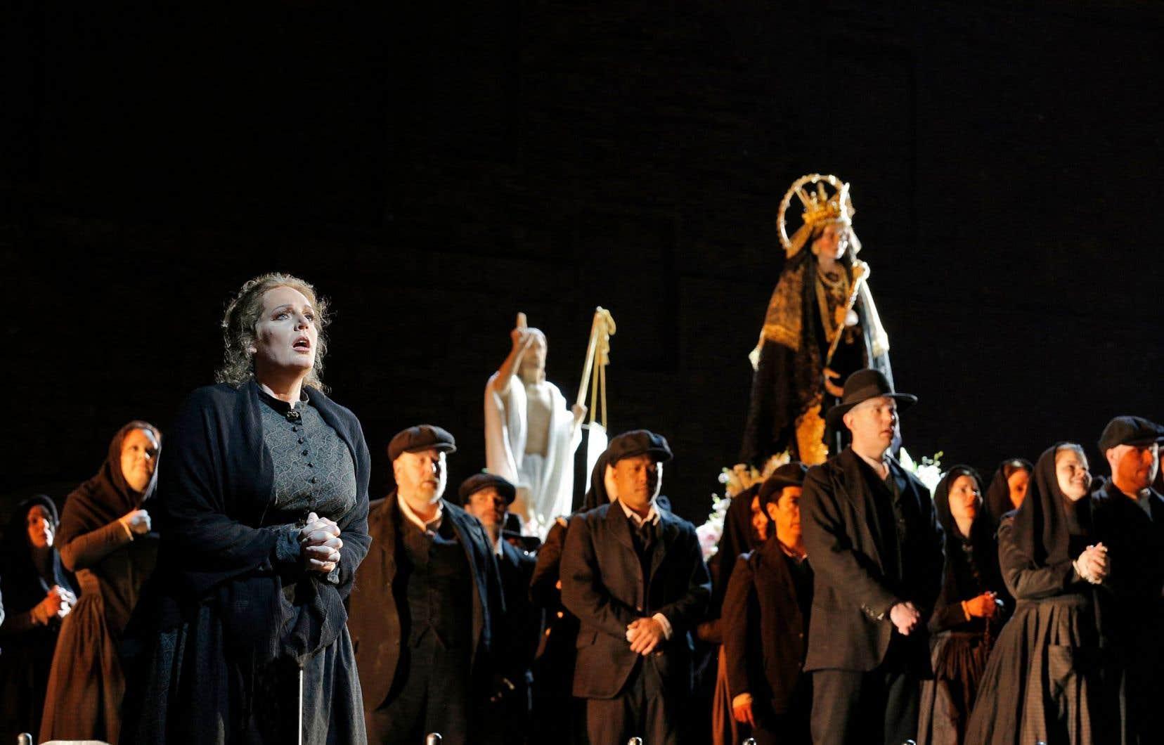 «Cavalleria rusticana» est l'opéra qui sent le plus le terroir de la ruralité profonde du sud de l'Italie.