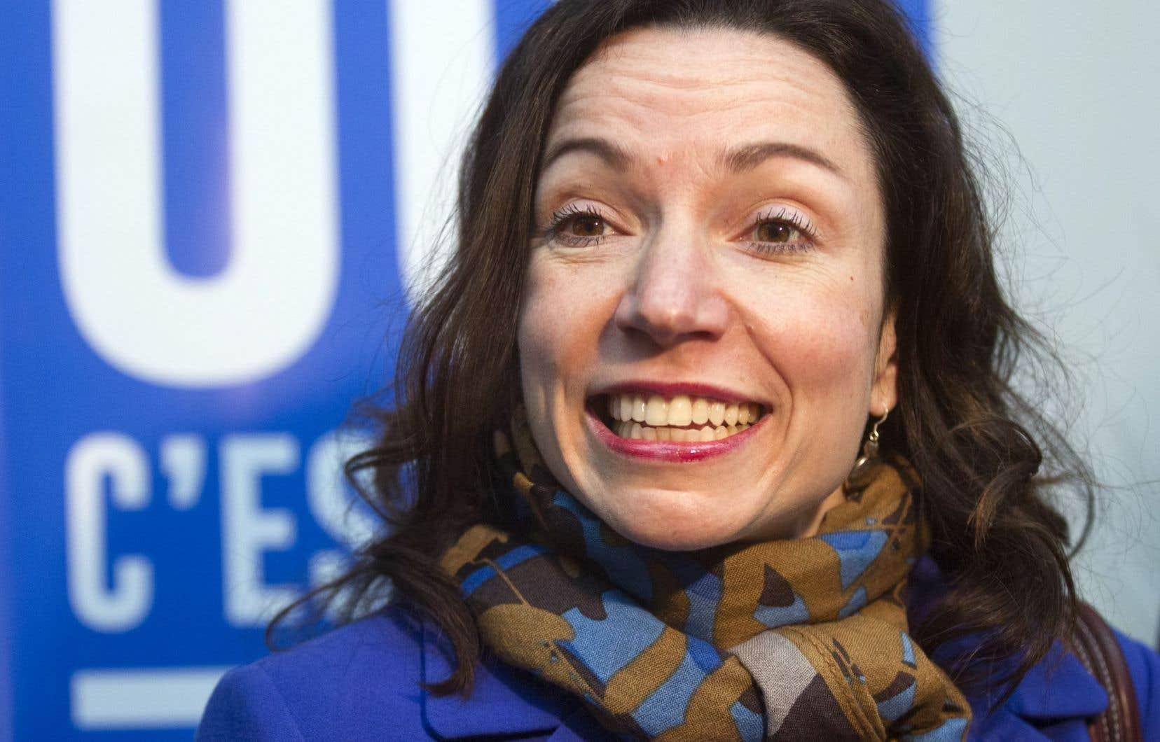 «Martine représente bien ces valeurs de social-démocratie verte qui sont les miennes», a affirmé Kathleen Nadeau-Richard.