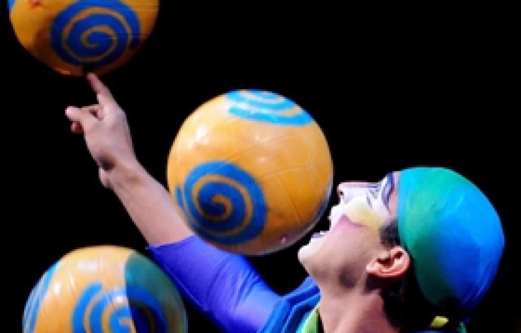 Un extrait du spectacle Varekai, du Cirque du Soleil