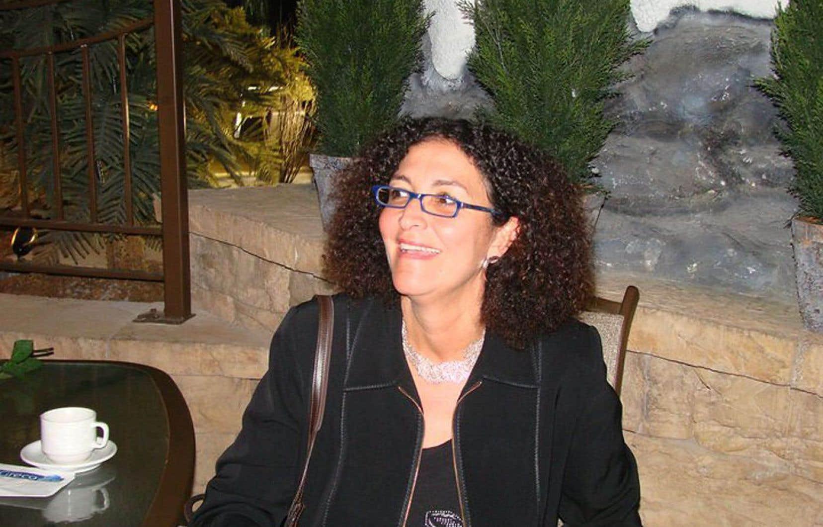 La rectrice de l'Université du Québec à Trois-Rivières (UQTR), Nadia Ghazzali