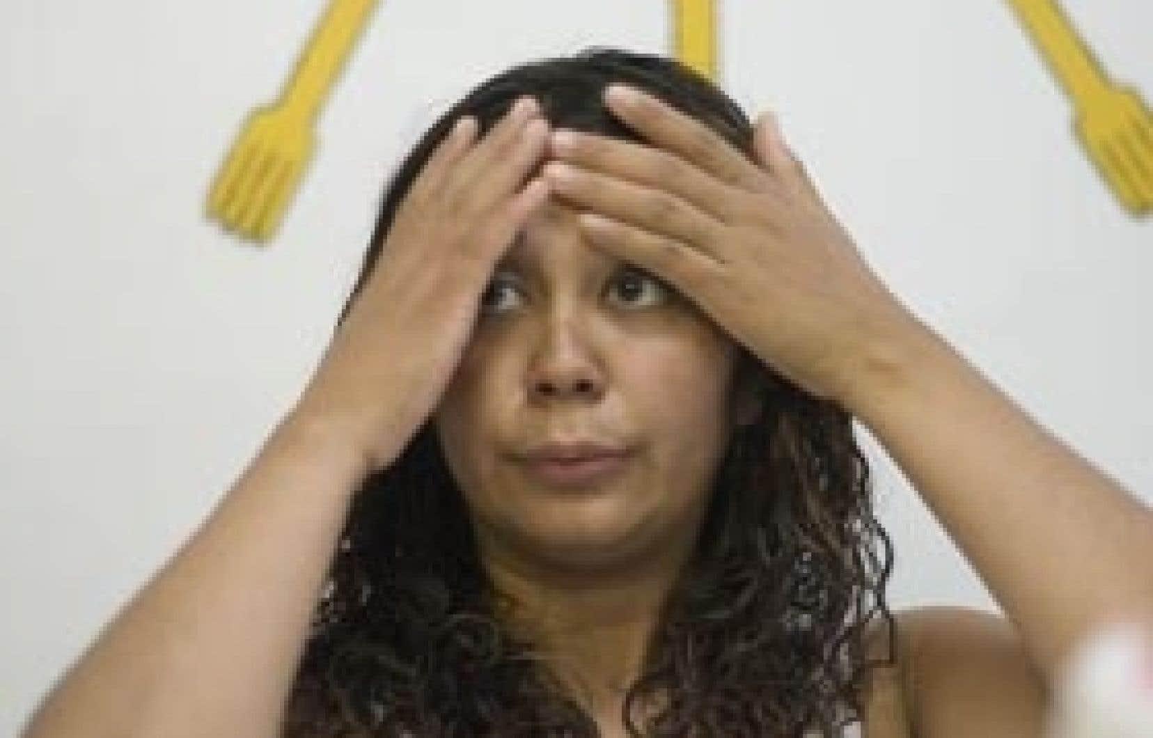 «Nous on respecte la justice, mais on n'a pas l'impression que la justice nous respecte» – Patricia Villanueva
