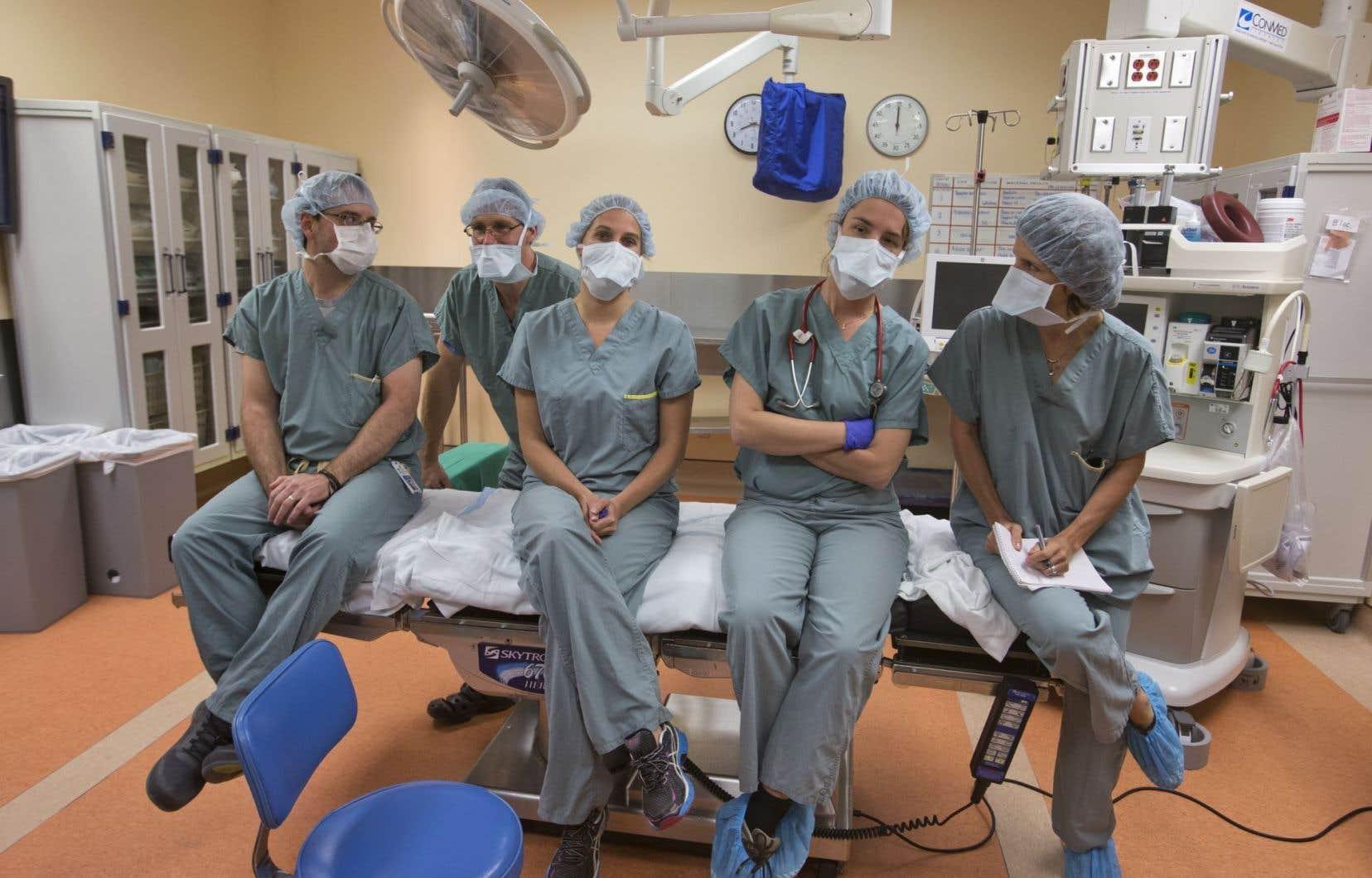 86% des répondants d'un sondage se sont dits satisfaits du travail des infirmières.
