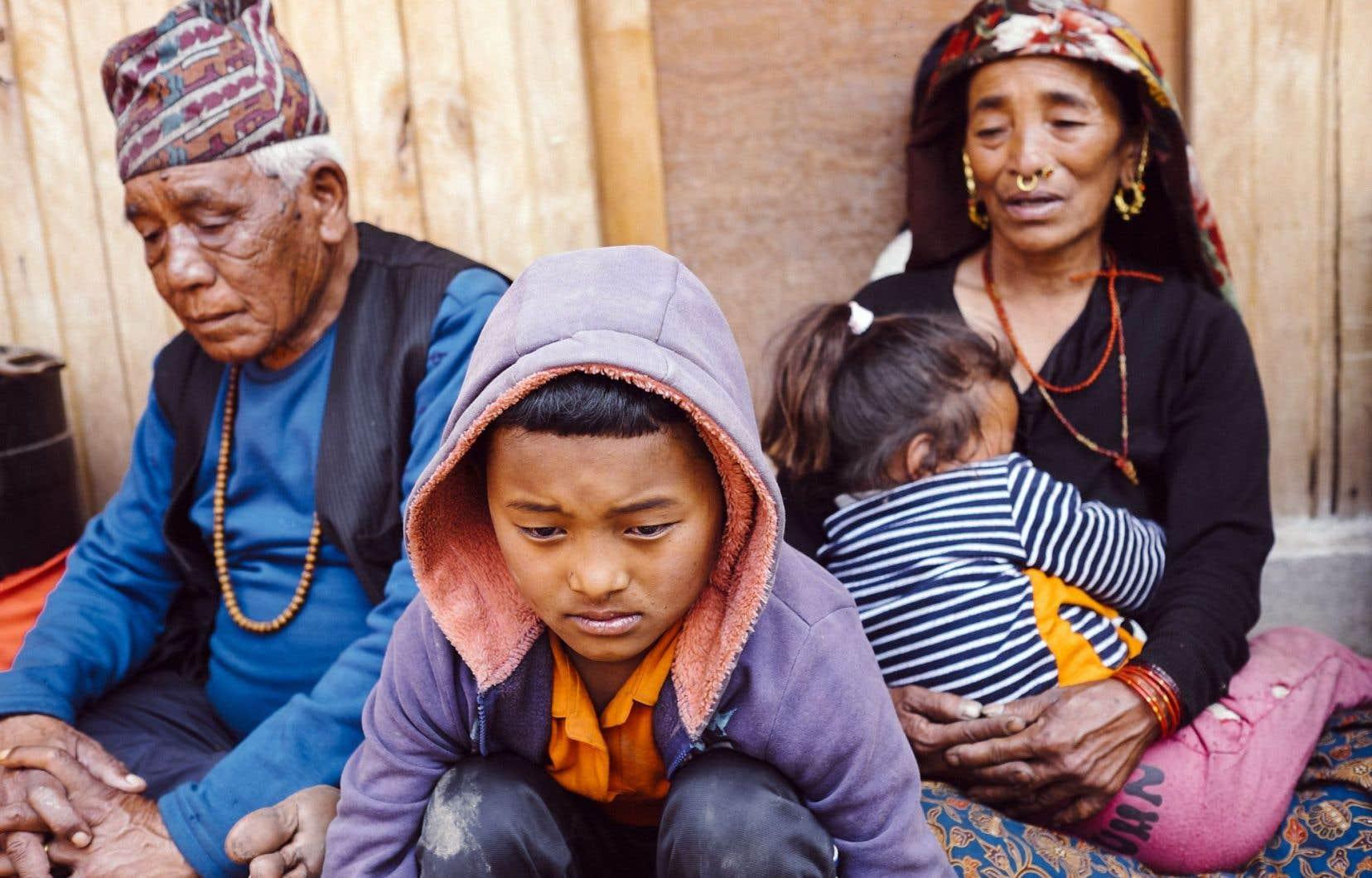 Les habitants de Barpak, un village fortement éprouvé par le séisme du 25 avril, ont encaissé une nouvelle secousse sismique de forte magnitude mardi.