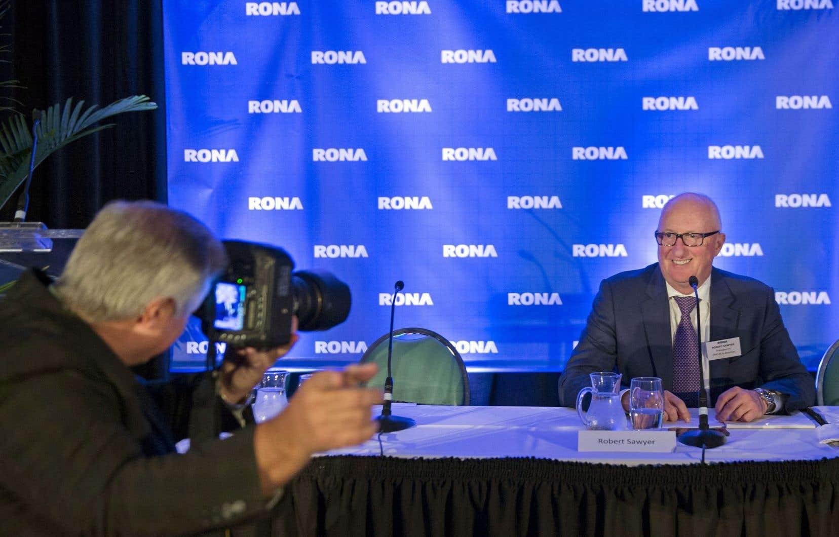 Robert Sawyer: «Nous étions intéressés par deux sites [récupérés] par Lowe's, mais le prix du loyer était trop élevé.»