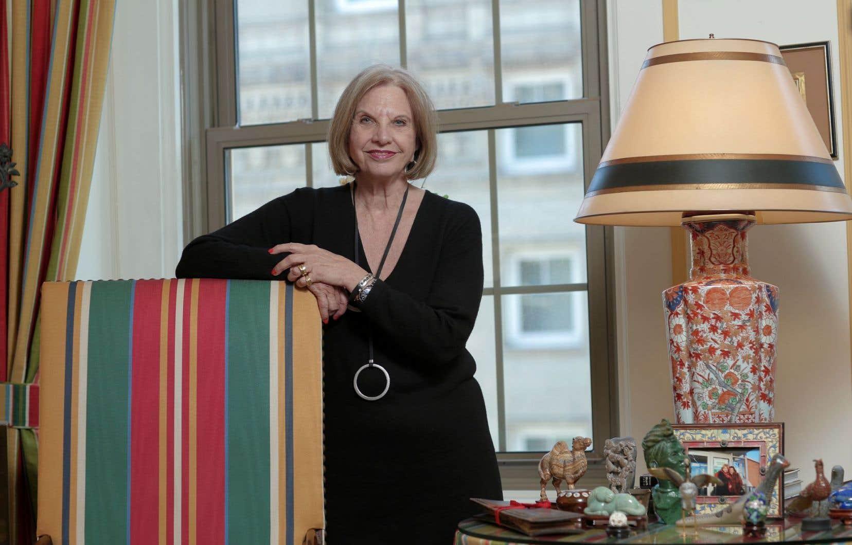 Monique Jerôme-Forget a reçu le prix Oeuvre de toute une vie.
