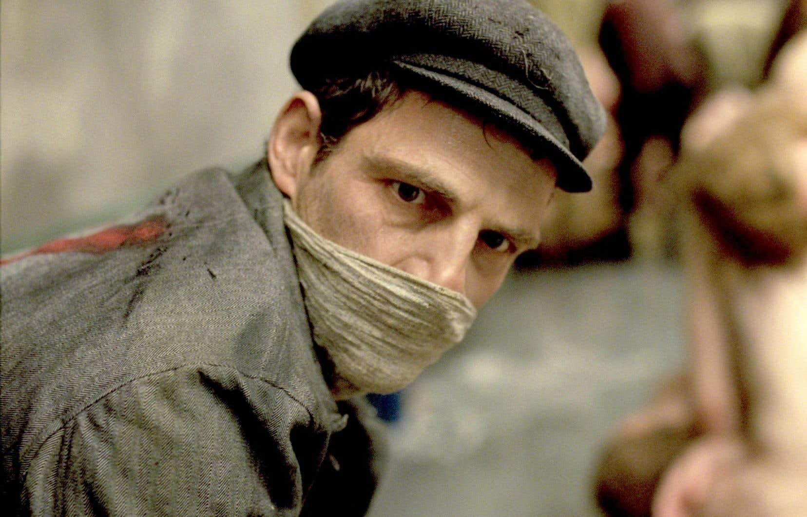 Le film hongrois «Le fils de Saul», de Laslo Nemes, aborde le quotidien de déportés juifs formés à entraîner les prisonniers dans les chambres à gaz d'Auschwitz.