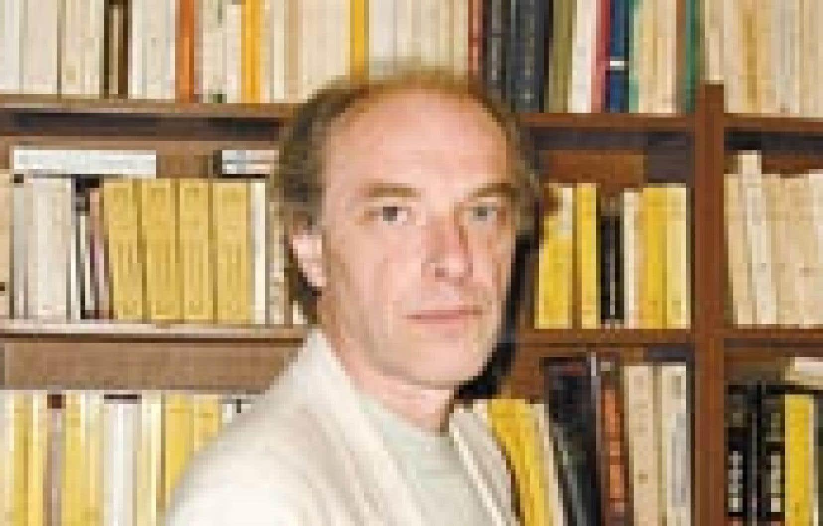 Jean Larose. — Source: Université de Montréal