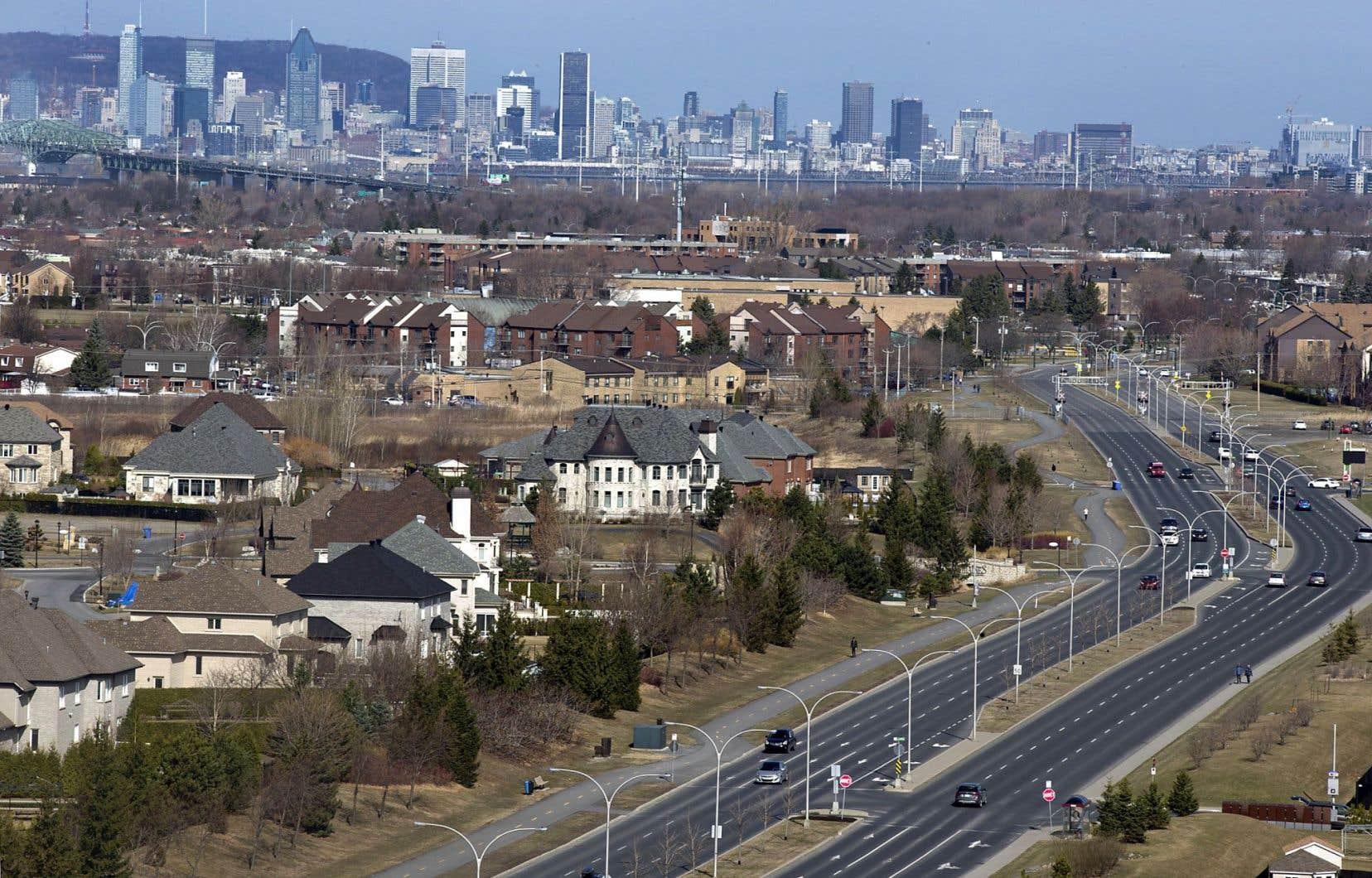 Les quartiers résidentiels qui encouragent la sédentarité à travers une politique du tout-à-l'automobile se multiplient.