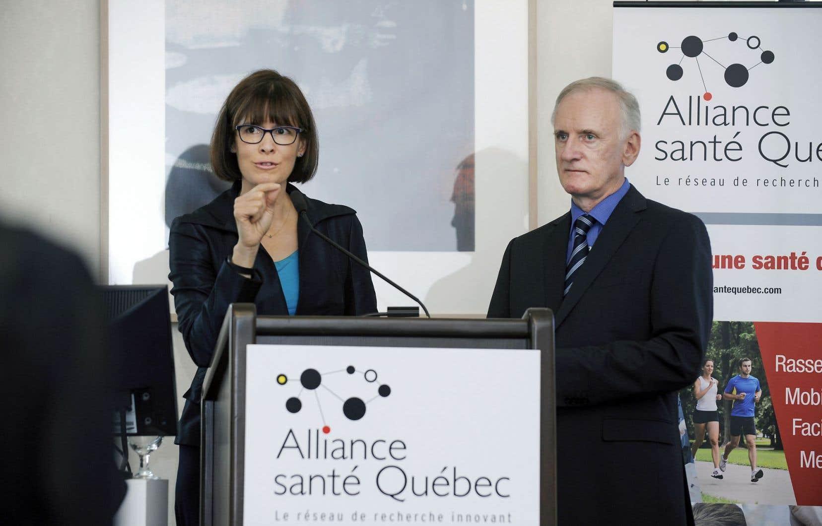 «La recherche, c'est une question d'excellence!», selon Sophie D'Amours, vice-rectrice à la recherche et à la création de l'UL.