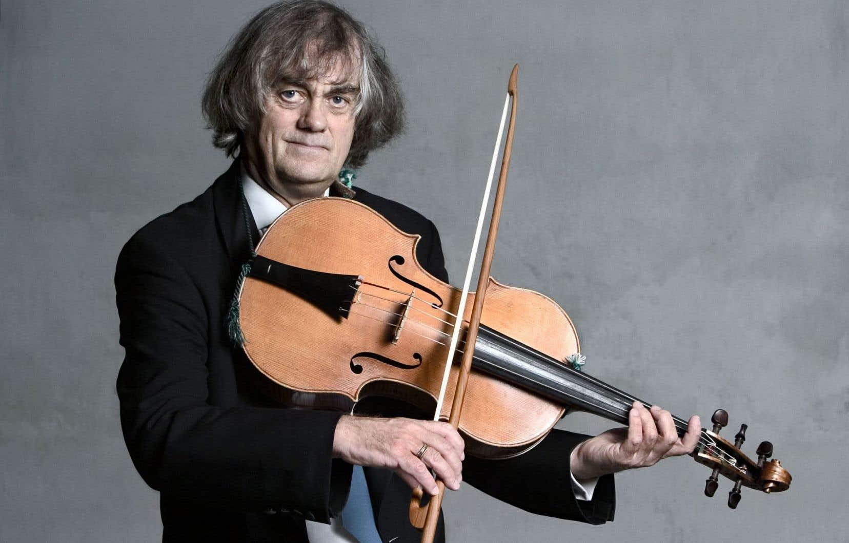 Le célèbre violoniste et chef Sigiswald Kuijken jouera du violoncelle d'épaule