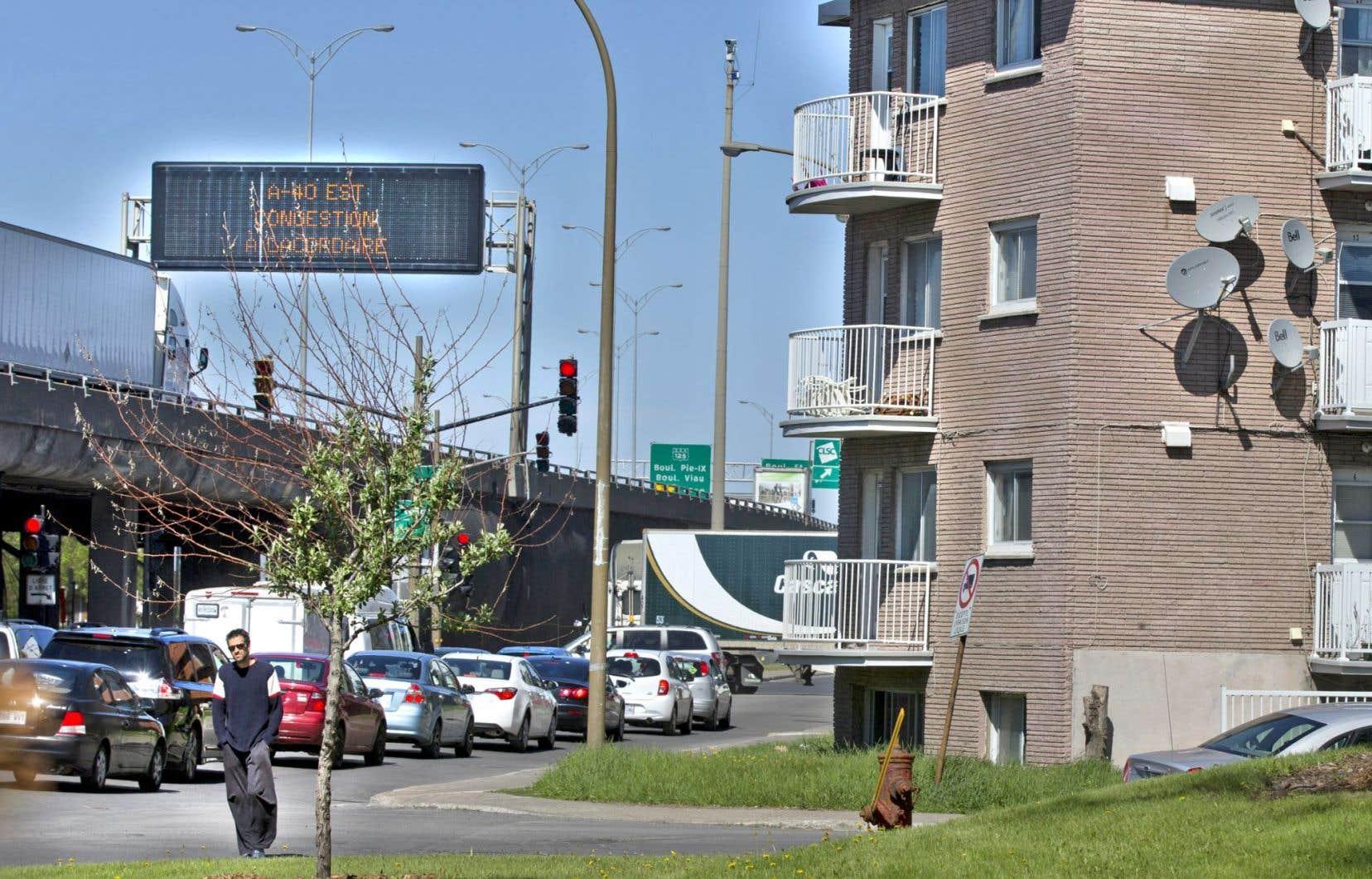 La pollution sonore touche notamment les personnes résidant près des autoroutes.