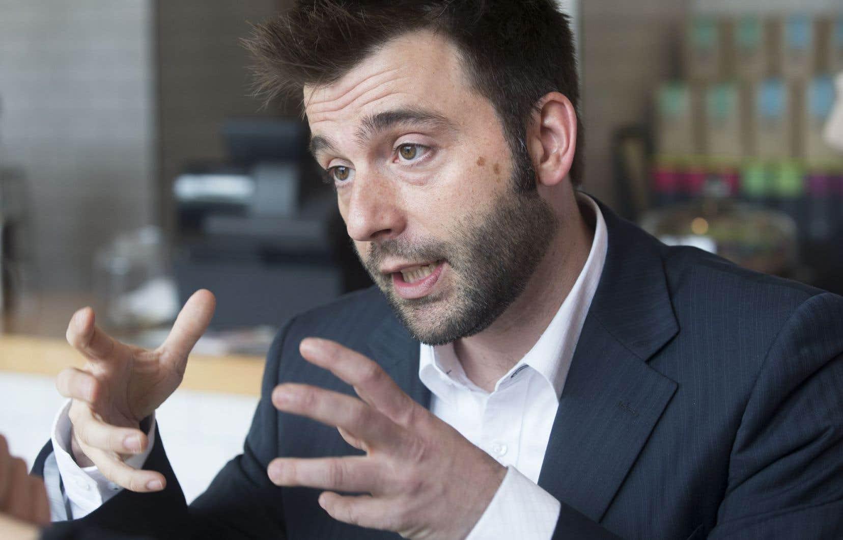 Mathieu Mercier est conseiller syndical de 13 magasins Renaud-Bray.