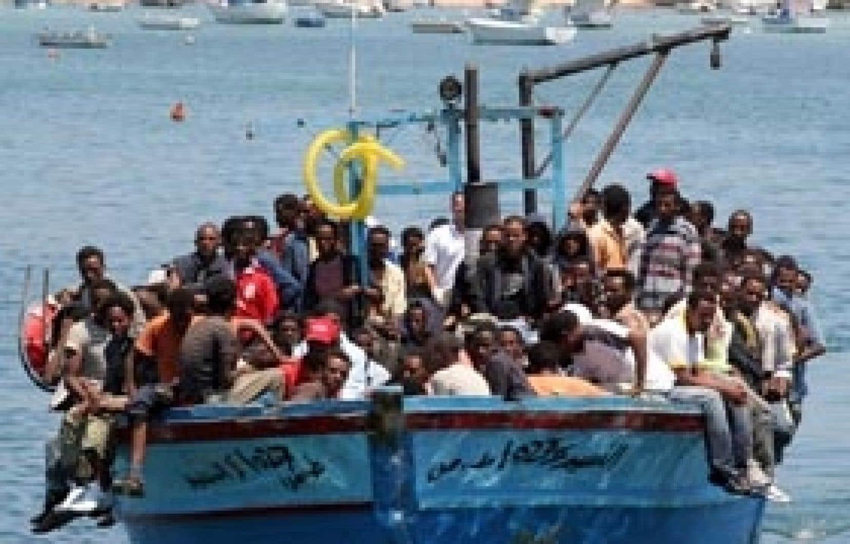 Le trafic de clandestins vers l'Europe n'a pas connu d'accalmie cette année.