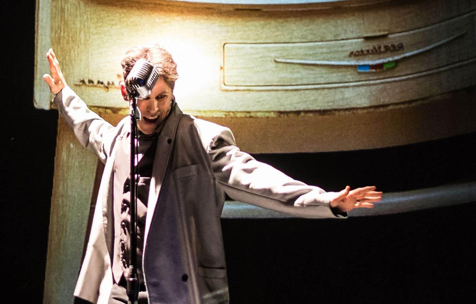 «Boom», mis en scène et interprété par Rick Miller.