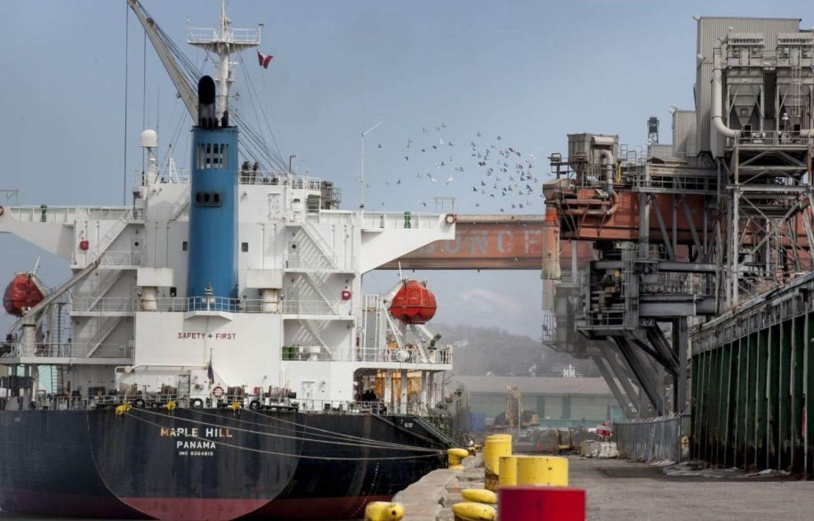 Les autorités du port de Québec voudraient agrandir la zone industrielle.