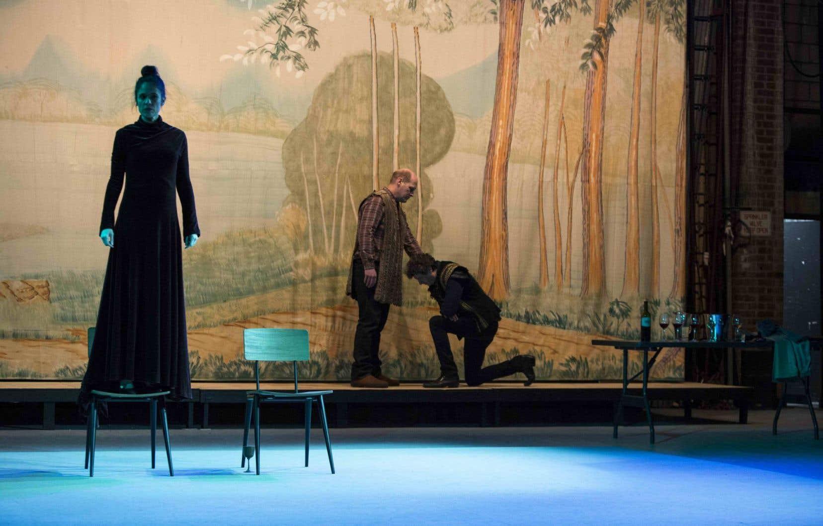 Une scène tirée d'«Isolde»du New-Yorkais Richard Maxwell